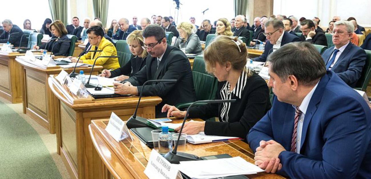 Председатель правления РОО «Содействие» Дубинин В.В. принял участие в Парламентских слушаниях в Совете Федерации РФ.