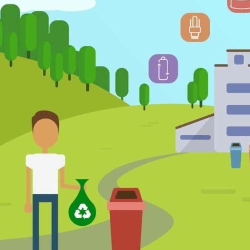 Наше участие в экологических мероприятиях для поддержки и продвижения,  разработанного нашей организацией  бесплатного городского экологического мобильного приложения  ECOMAP